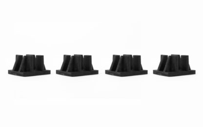 Poly-Clip Horizontal Connector 4-Pack